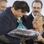 Encabeza Peña Nieto inicio de programa invernal de entrega de apoyos