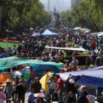Pierden comerciantes del DF 10 mdp en ventas por plantón de la CNTE