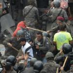 Guatemala disuelve caravana de migrantes con uso de la fuerza