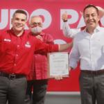 Carlos Herrera rinde protesta como candidato del PRI a gubernatura de Michoacán