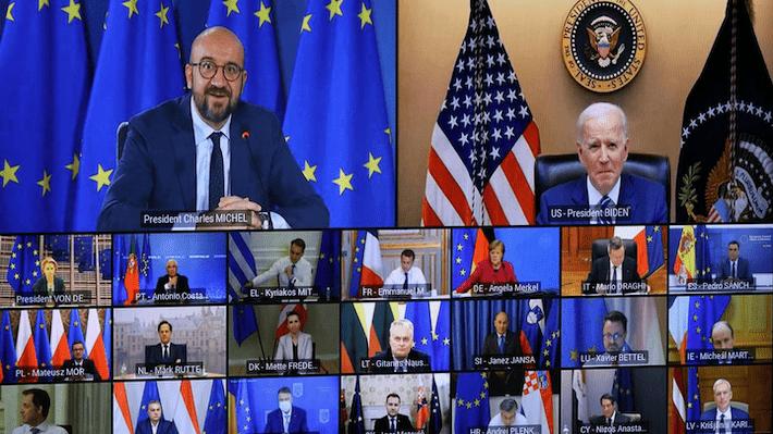 Biden y Consejo Europeo