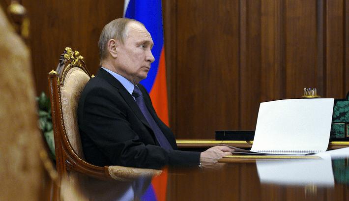 Rusia Bladimir Putin