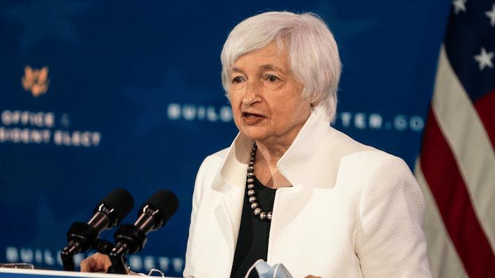 Departamento del Tesoro Janet Yellen