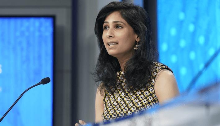 Directora del Departamento de Estudios del FMI, Gita Gopinath.