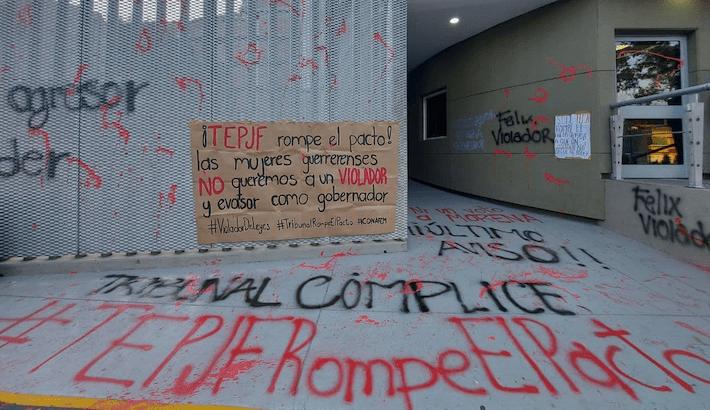 Mujeres piden al TEPJF no devolver candidatura a Salgado Macedonio