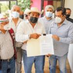 """""""No hay plan B"""", seré candidato de Morena, advierte Salgado Macedonio"""