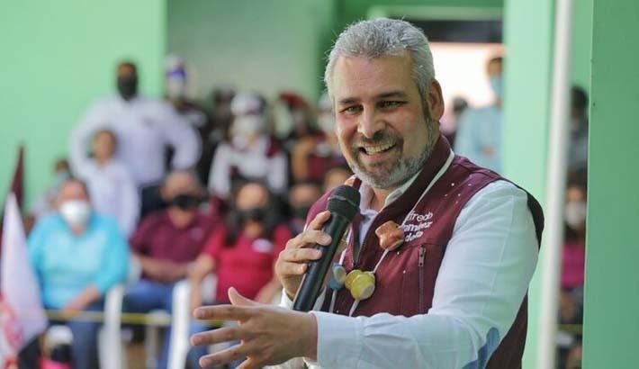 Alfredo Ramírez Bedolla. candidato sustituto