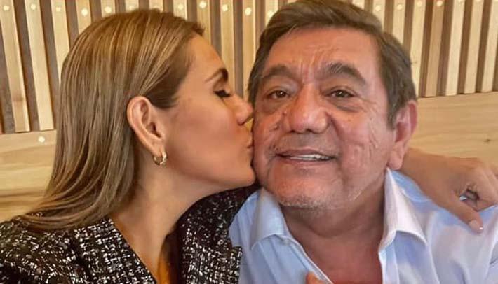Félix Salgado y su hija Evelyn Salgado Pineda