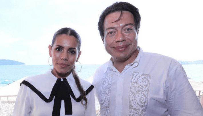 Mario Delgado y Evelyn Salgado
