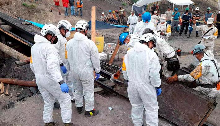 Rescate mineros mina MICARAN MUZQUIZ, COAHUILA