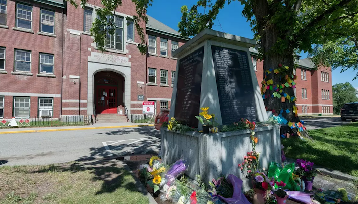 Canadá - residencia escolar de Kamloops