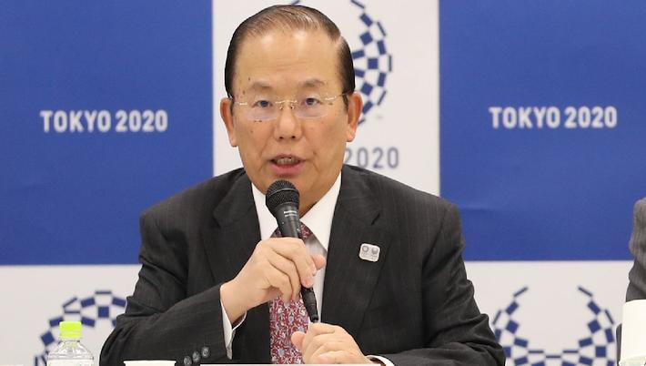El jefe del Comité Organizador de los Juegos Olímpicos, Toshiro Muto